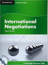 International Negotiations Student's Book with Audio CDs (2) (Cambridge Business Skills) - фото обкладинки книги