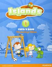 Islands 1 Student Book handwriting +pin code (підручник) - фото обкладинки книги