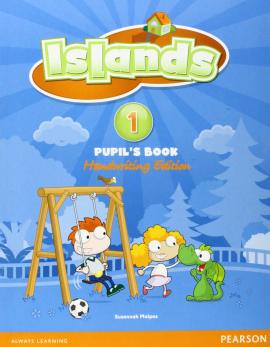 Islands 1 Student Book handwriting +pin code (підручник) - фото книги