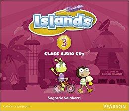 Islands 3 Class Audio CD (аудіодиск) - фото книги