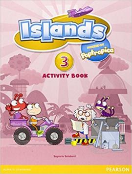 Islands 3  Workbook + pin code - фото книги
