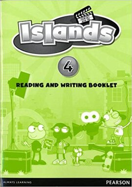 Islands 4 Reading and writing booklet (буклет) - фото книги