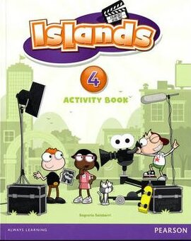 Islands 4  Workbook + pin code - фото книги
