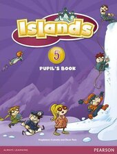 Islands 5 Student Book + pin code (підручник) - фото обкладинки книги