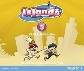 Islands 6 Class Audio CD (аудіодиск) - фото книги