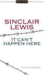 It Can't Happen Here - фото обкладинки книги