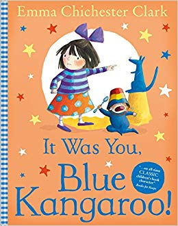It Was You! Blue Kangaroo - фото книги