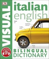 Italian-English Bilingual Visual Dictionary - фото обкладинки книги
