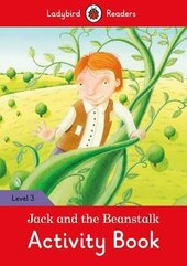 Jack and the Beanstalk Activity Book - Ladybird Readers Level 3 - фото обкладинки книги