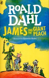 James and the Giant Peach - фото обкладинки книги
