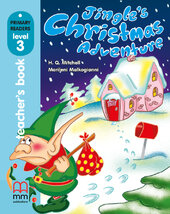 Jingle's Christmas Adventure Teacher's Book + CD - фото обкладинки книги