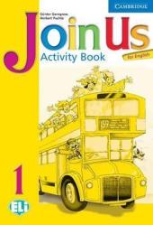 Join Us English 1. Activity Book - фото обкладинки книги