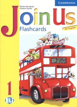 Join Us English 1. Flashcards (картки) - фото книги