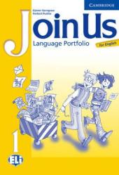 Join Us English 1. Language Portfolio (додаткові дидактичні матеріали) - фото обкладинки книги