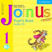 Join Us for English 1 PB Audio CD - фото обкладинки книги