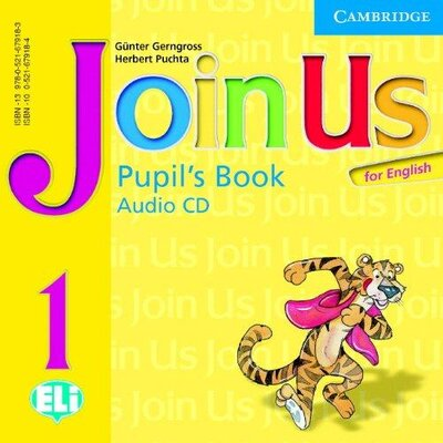 Аудіодиск Join Us for English 1 PB Audio CD