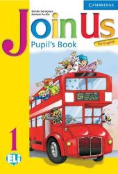 Join Us for English 1 PВ - фото обкладинки книги