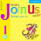 Join Us for English 1 Songs Audio CD - фото обкладинки книги
