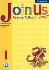 Join Us for English 1 Teacher's Book - фото обкладинки книги