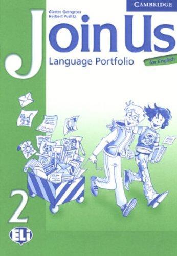 Посібник Join Us for English 2 Language Portfolio