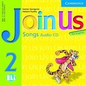 Join Us for English 2 Songs Audio CD: Level 2 - фото обкладинки книги