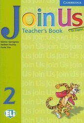 Join Us for English 2 Teacher's Book - фото обкладинки книги