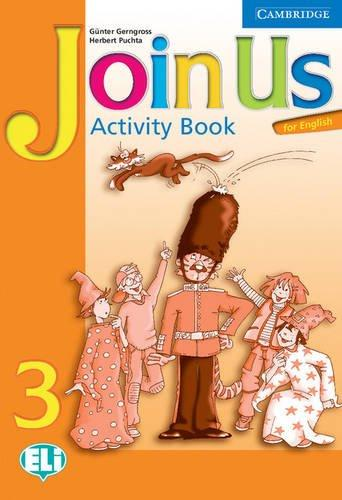 Підручник Join Us for English 3 Activity Book