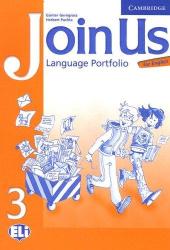 Join Us for English 3 Language Portfolio - фото обкладинки книги