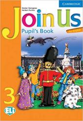 Join Us for English 3 Pupil's Book - фото обкладинки книги
