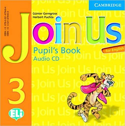 Аудіодиск Join Us for English 3 Pupil's Book Audio CD