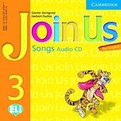 Join Us for English 3 Songs Audio CD - фото обкладинки книги