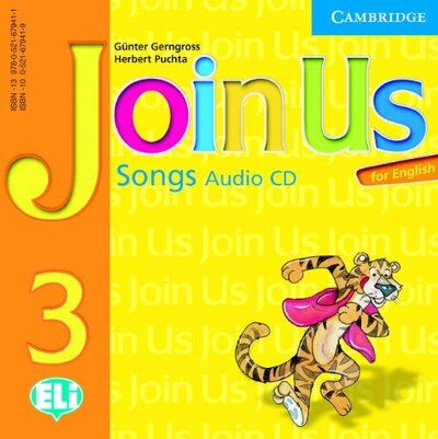 Аудіодиск Join Us for English 3 Songs Audio CD