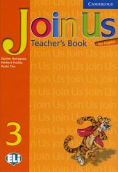 Join Us for English 3 Teacher's Book - фото обкладинки книги