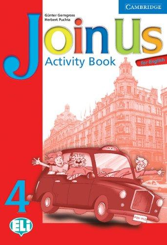 Підручник Join Us for English 4 Activity Book