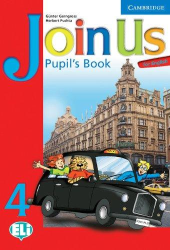 Підручник Join Us for English 4 Pupil's Book