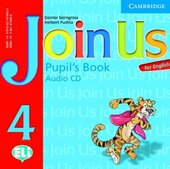 Join Us for English 4 Pupil's Book Audio CD: Level 4 - фото обкладинки книги