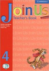 Join Us for English 4 Teacher's Book - фото обкладинки книги