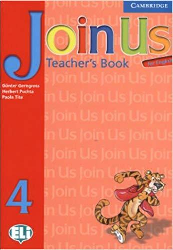 Книга для вчителя Join Us for English 4 Teacher's Book