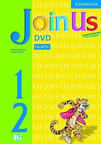 Аудіодиск Join Us for English Levels 1 and 2 DVD