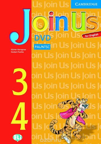 Аудіодиск Join Us for English Levels 3 and 4 DVD
