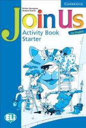 Join Us for English Starter Activity Book - фото обкладинки книги