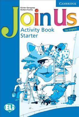 Join Us for English Starter Activity Book - фото книги