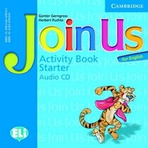 Join Us for English Starter Activity Book Audio CD