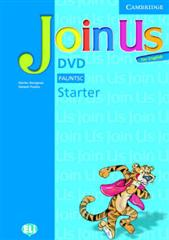 Книга для вчителя Join Us for English Starter DVD