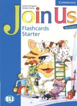 Join Us for English Starter Flashcards - фото книги