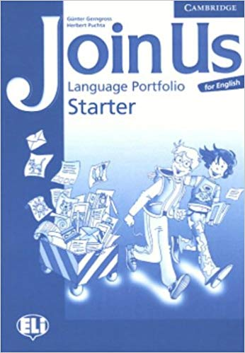 Посібник Join Us for English Starter Language Portfolio