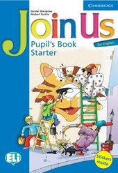 Join Us for English Starter Pupil's Book - фото обкладинки книги
