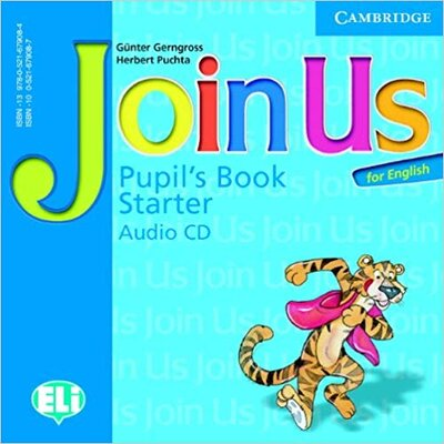 Аудіодиск Join Us for English Starter Pupil's Book Audio CD