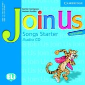 Join Us for English Starter Songs Audio CD - фото обкладинки книги