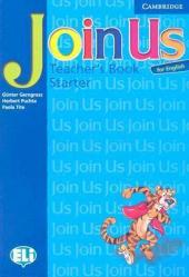 Join Us for English Starter Teacher's Book - фото обкладинки книги
